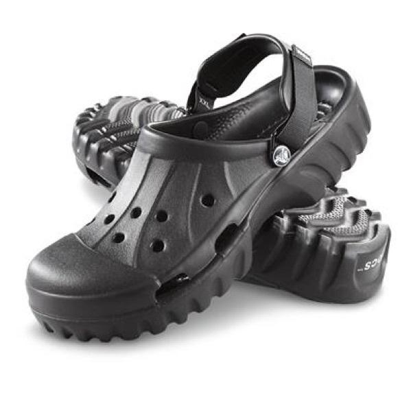 d9e890a23c41 CROCS Shoes - BN OFF-ROAD ALL BLACK CROCS